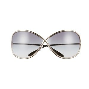 Tom Ford Oversize Metal Sunglasses